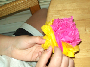 Learning to Make Paper Flowers
